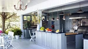 la cuisine d la cuisine d été le centre and sympa du jardin pendant les