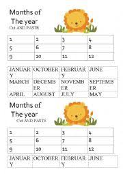 english worksheets the months of the year worksheets page 49