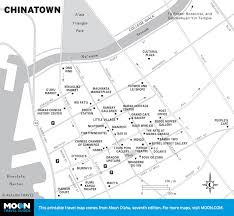 Map Of Chinatown San Francisco by Printable Travel Maps Of O U0027ahu Moon Travel Guides