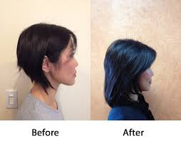 hair extensions for short hair before and after hair extensions josie procopio hair stylist newton josie