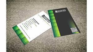 card horizontal business card template