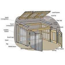 how to build a trash shed trash bins backyard and yards