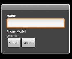 dialog android android how to add title to the custom dialog stack overflow