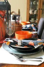 halloween tableware diane reta the blog dollar store halloween tablescape