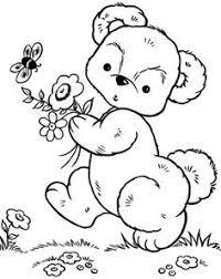 teddy bear coloring applique ideas teddy