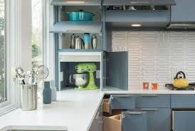 Corner Cabinet Solutions In Kitchens Clever Kitchen Storage Solutions For Corner Cabinets