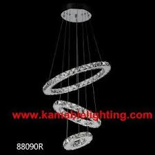 ceiling light made in china modern circular ring crystal led lighting kam88090d on made in