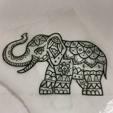 25 beautiful mandala elephant tattoo ideas on pinterest mandala