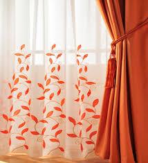 Contemporary Orange Curtains Designs Curtains With Orange Accents 28 Images Curtains With Accents