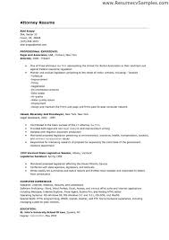 excellent cv sample example of good legal cv