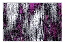 Modern Purple Rugs Masada Rugs Modern Contemporary Mat Area Rug Purple
