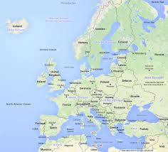 a map of europe with countries europe map interactive map of europe showing countries rivers and