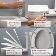 Kohler Quiet Close Toilet Seat Repair Delta Faucet 813902 N Wh Sanborne Elongated Nightlight Toilet Seat