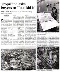 bid it new straits times 28 march 2016 tropicana asks buyers to just