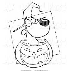 halloween dog coloring page shimosoku biz