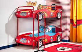 Cute Car Beds To Drive Your Kids To Dreamland - Race car bunk bed