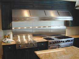 Stainless Steel Outdoor Countertops Brooks Custom by Stainless Steel Range Hoods Brooks Custom