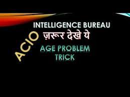 solution bureau important question for acio intelligence bureau