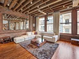 Best  Loft Living Rooms Ideas On Pinterest Industrial Loft - Wooden interior design ideas