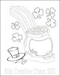 leprechaun coloring sheets for saint patrick u0027s day free