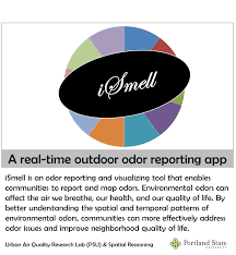 Portland Map App by Spatial Reasoning Ismell Odor Reporting App Web Demo