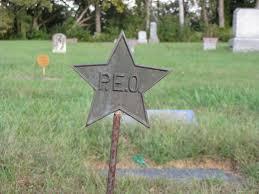 Grave Marker Flags The P E O Star Gravely Speaking