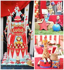 carnival birthday party kara s party ideas circus carnival 1st birthday party