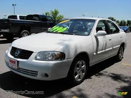 white nissan sentra 2010 2004 nissan sentra 1 8 s in cloud white 871665 nysportscars