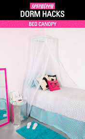 hammock chair very easy diy dorm home decor hacks for small girls