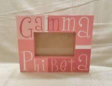 sorority picture frame gamma phi beta fraternity sorority ebay