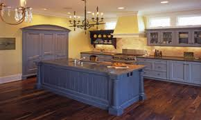 blue kitchen island with seating quicuacom country blue kitchen