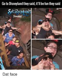 Disneyland Memes - go to disneyland they said it ll be fun they said splash mount