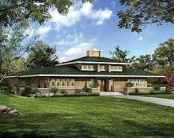 prairie style house classic prairie style house plan 81313w architectural designs
