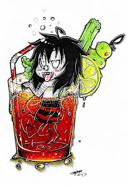 cocktail cartoon chibi laughing jack u0027s cocktail pool 3 by shannonxnaruto on
