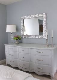 bedroom dresser with mirror white dresser with large mirror frame rm home pinterest