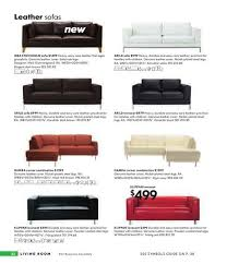 Vreta Sofa Bed by Ikea Leather Sofas