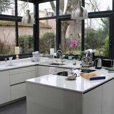 cuisine sous veranda quelque soit l angle de vue la perspective est magnifique cuisine