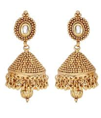 jhumka earrings online shinningdiva attractive antique jhumka earrings buy shinningdiva