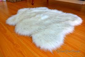 tappeti di pelliccia flokati sheepskins pelliccia tappeti accenti arredamento zona