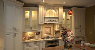 White With Brown Glaze Kitchen by Picture Kitch Special Order Kitchen