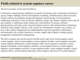 junior system engineer cover letter