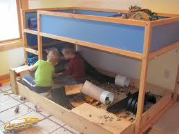 Play Bunk Beds Our Spin On It Boys Room Play Construction Site Bunk Bed