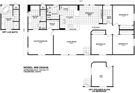 great room floor plan manufactured home by mh factory homes