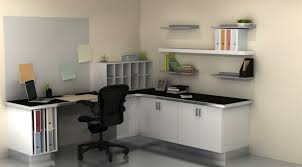 Kitchen Office Furniture Useful Spaces A Home Office With Ikea Cabinets