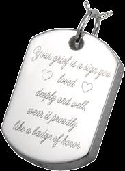 dog tag jewelry engraved wholesale personalized jewerly dog tag cremation jewelry