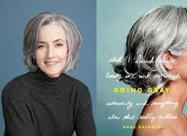 growing out gray hair grey is ok