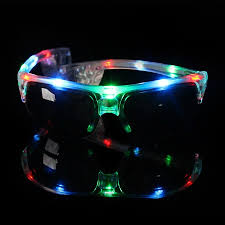 party sunglasses with lights gf glow led party glass professional led glass supplier tina