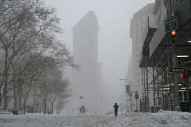 new york nears record snowfall after blizzard pummels city east coast