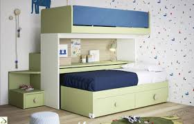 letto a con scrivania lettino a con secondo letto skid arredo design
