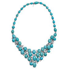 white gold turquoise necklace images Piaget turquoise diamond gold necklace from a unique collection jpg